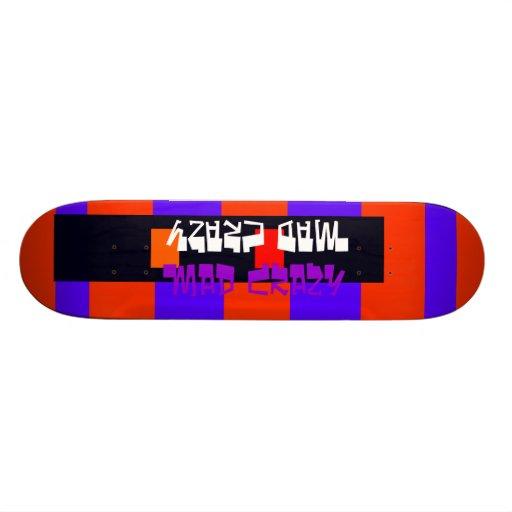 Unusual Skateboard Deck 14 Mad Crazy Design
