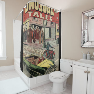 unusual tales shower curtain