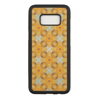 Unusual  Yellow Geometric Carved Samsung Galaxy S8 Case
