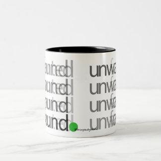 unwanted < found - Drinkware Two-Tone Coffee Mug