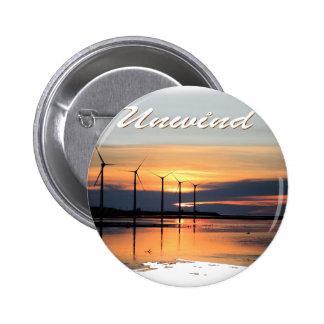 Unwind 6 Cm Round Badge