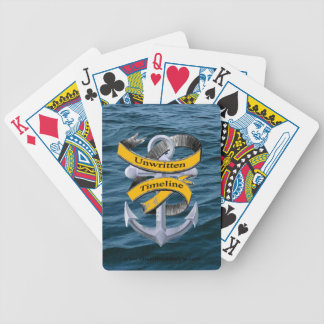Unwritten Timeline Playing cards for poker