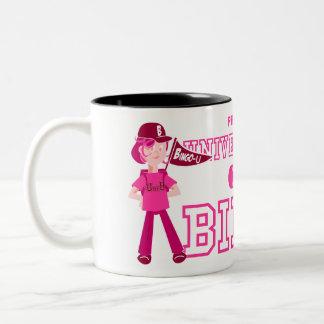UofB pink character mug