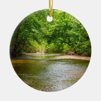 Up A Creek Ceramic Ornament