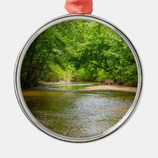Up A Creek Metal Ornament