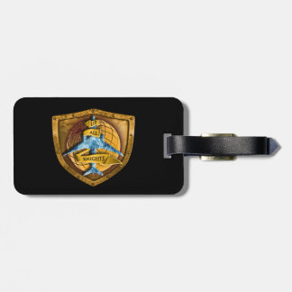 Up All Knights Luggage Tags