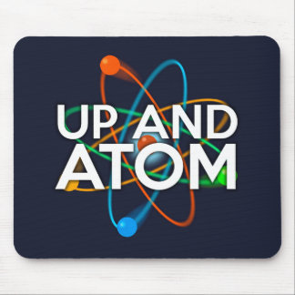 UP AND ATOM MOUSE PAD