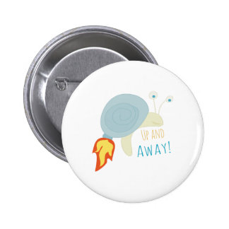 Up and Away Pinback Buttons