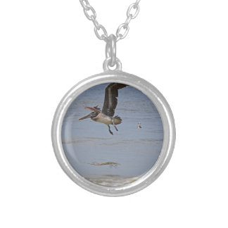 Up and Away Silver Plated Necklace