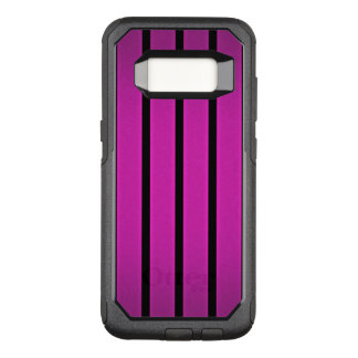 Up and down stripes OtterBox commuter samsung galaxy s8 case