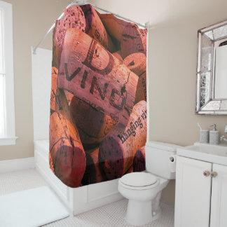 Up Close Cork Shower Curtain