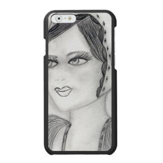 Up Close Flapper Incipio Watson™ iPhone 6 Wallet Case