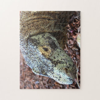 Up Close Komodo Dragon Puzzle
