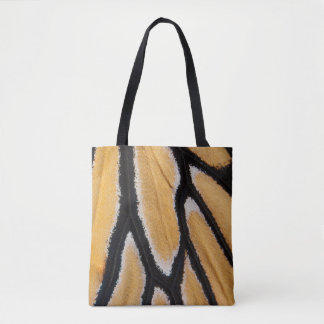 Up Close Monarch Wing All-Over-Print Tote Bag
