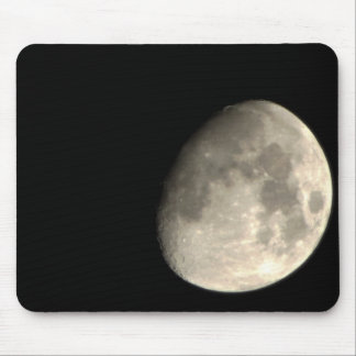 Up Close Moon Mouse Pad