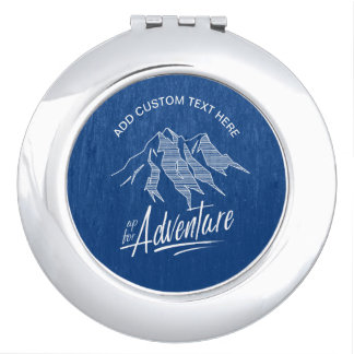 Up For Adventure Mountains ID358 Mirror For Makeup