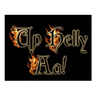 Up Helly Aa! Greeting Post Cards