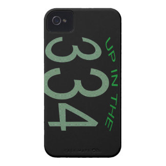 UP IN 334 (GREEN) iPhone 4 CASE
