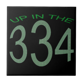 UP IN 334 (GREEN) SMALL SQUARE TILE