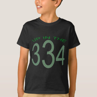 UP IN 334 (GREEN) T-Shirt