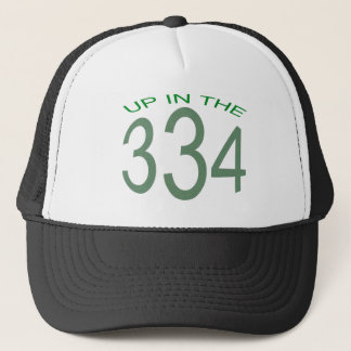 UP IN 334 (GREEN) TRUCKER HAT