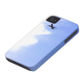Up in the Blue Sky l In-Flight Aeroplane iPhone 4 Case-Mate Case