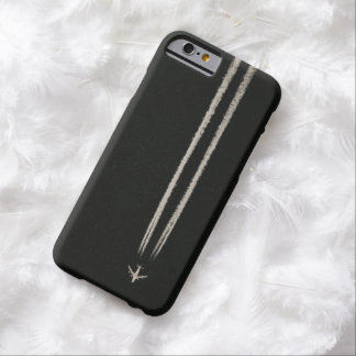 Up in the Sky High Altitude Airplane Contrail iPhone 6 Case