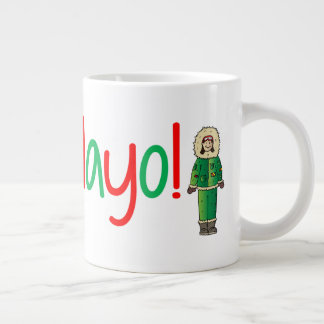 Up Mayo! Large Coffee Mug