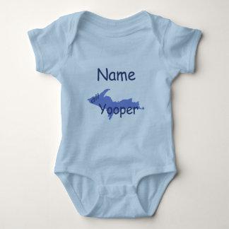 UP Michigan All Yooper Boy Custom Infant Creeper