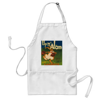 Up N Atom Vintage Crate Label Apron