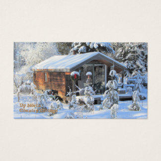 UP NORTH Country Cottage Business Card