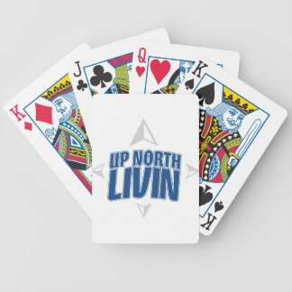 Up North Livin - Compass Bicycle Playing Cards