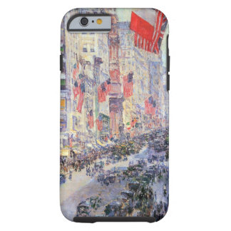 Up the Avenue from 34th Street, May 1917 by Hassam Tough iPhone 6 Case