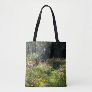 Up the Center Path Early Fall Tote Bag