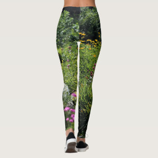 Up the Center Path Mid-Summer Leggings