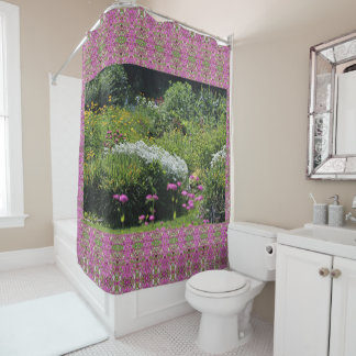 Up the Center Path Mid-Summer Shower Curtain
