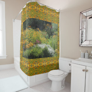 Up the Center Path ! Shower Curtain