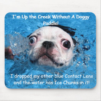Up The Creek Without a Doggypaddle  Mousepad