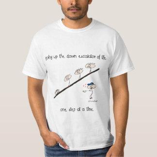 Up the down escalator, value tee-shirt T-Shirt