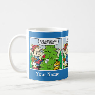 """Up Till July"" Garfield Comic Strip Mug"