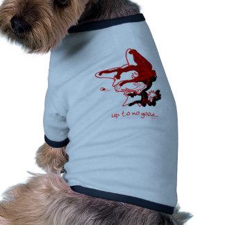 Up to No Good Doggie Tshirt