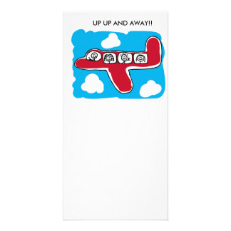 Up Up and Away Personalized Photo Card