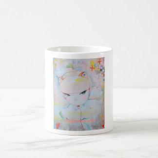 Up, up and away, send your mind to the xoxo sky coffee mug