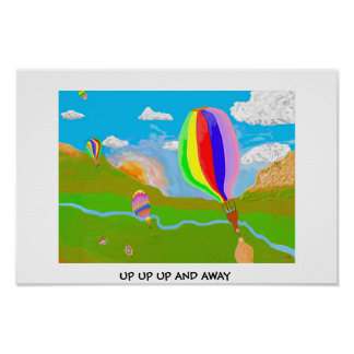 Up Up Up And Away Print