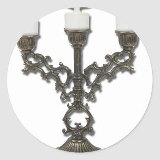 UpdatedCandelabra050711 Round Sticker