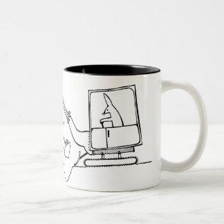 Upgrading Two-Tone Mug