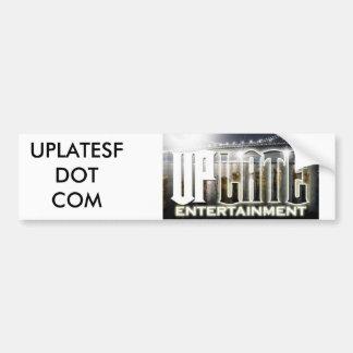 uplatelogo, UPLATESFDOT COM Bumper Stickers