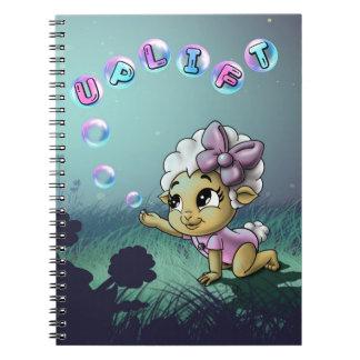 Uplift Spiral Photo Notebook (80Pgs B&W)
