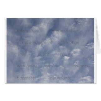 Uplifting Clouds Greeting Cards