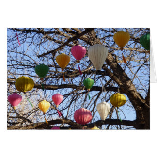 Uplifting Oriental Lanterns Card